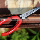 GOOD QUALITY Germany type red handle combination plier cutting plier long nose plier with TPR handle