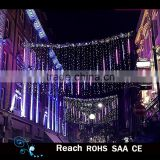 Christmas street decoration led street decoration arch motif light in holiday lighting shower
