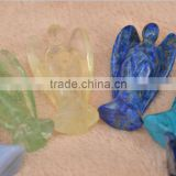 75mm stone carving angels design gemstone