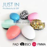 OEM Welcome New Egg Shaped Detangling Hair Brush/Fashion Comb For Promotion                                                                                                         Supplier's Choice