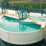 Mining machine thickener for gold ore cyanide leaching plant