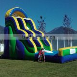 Good quality new arrival sport inflatables slide games