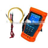 "3.5"" TFT-LCD Analog camera CCTV Tester,Digital Multimeter+Optical power met Multi-protocol PTZ control. Pan/tilts/zooms (ST-985)"