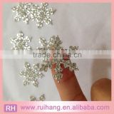 hot sale exquisite snowflake brooch rhinestones snow flake winter sell/2015 Chirstmas snowflake button
