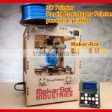 3d printer Maker-Bot Thing O Matic rapid prototyping printer personal desktop printer model/art works 3 dimension printer