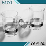 Top 10 Made in china Good price glass cup with metal holder