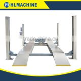 Alignment four post auto mobile lift original manufacturer CE certificate