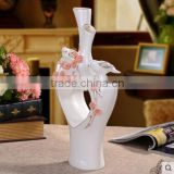 Porcelain vase home accessories for decoration and furniture