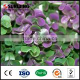 decorative artificial boxwood leaf plastic leaf fence fake outdoor flowers leaves                                                                         Quality Choice