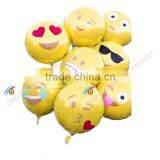 2016 new design facial expression foil balloons from twitter custom design balloon                                                                                                         Supplier's Choice