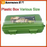 132*90*37Mm Waterproof Green Plastic Packaging Box,Plastic Tool Box,Plastic Box For Flashlight                                                                                         Most Popular
