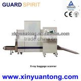 XJ8065 leading supplier of X-ray baggage scanner , High Resolution x ray luggage inspection machine