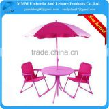 1.4m 1.6m children folding table chair and umbrella                                                                         Quality Choice