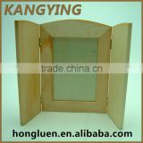 Alibaba China Cheap Door Shaped Wooden Mirror Frame Design
