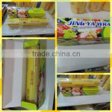 color box with dispenser inside household food grade pvc cling wrap plastic packing film manufacturer
