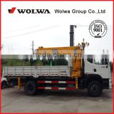 Telescopic boom hydraulic truck manipulator boom 10 ton with 18 meter boom with Dongfeng Truck