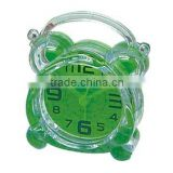 Mini Desk clock, pastic table alarm clock bedside clock, children clock