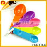 Measuring Baking Spoons Cups Kitchen Tools Teaspoons Utensil,5-Piece Plastic Measuring Spoons