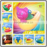 Non-inflatable High quality PVC material Water Play game Equipment motorized bumper boat for Sale