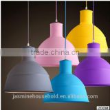 Colorful Waterproof Silicone Ceiling pendant Lamp Shade/covers/Kits