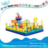 Colorful inflatable water park for children