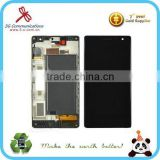 original LCD accessories for Nokia Lumia 730 LCD display touch combo with frame