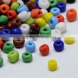 8/0 Mixed Opaque Glass Seed Beads, 2.0~3.0mm, about 15000pcs/pound(SEED-A017-8-51)