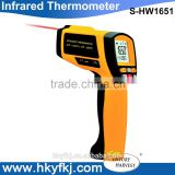 Industrial laser non contact digital infrared thermometer, infrared pyrometer digital (S-HW1651)