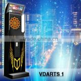 Coin operated dart machine with Cricket game 01 game count up and so on