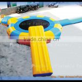 floating pvc inflatable water sport equipment, trampoline toy game for sale                                                                         Quality Choice