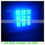 led floodlight blue color 100w 70w 120w hot