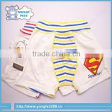 Baby Boy's Cotton Shorts Super Man Pattern Combed Cotton Adult Baby Pants Baby Boy Shorts