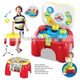 Baby toys kid's fun play set with light and music with chair