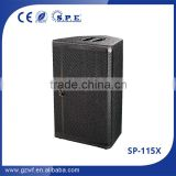 "sp-115x high quality professional speakers 15"" loudspeaker dj sound system dj equipment sound speaker"