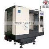 High quality vmc-850 gang type small automatic feed cnc lathe