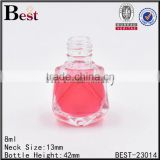 8ml diamond glass bottle perfume glass bottle sprayer glass bottle                                                                                                         Supplier's Choice