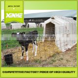 Grade one factory House and open-air cage for calfs / Greenhouse Poultry Equipment Calf Hutch