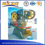 C frame manual punching and shearing machine, manual power press