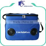 New design insulated lunch radio cooler bag with mp3