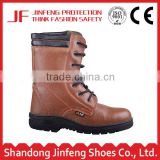 groundwork mining industry brown italian leather rubber sole soft sole boots men s3 leather safety boots
