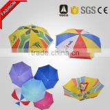 Promotional Light Guangzhou Factory Custom Logo Print Hat Umbrella
