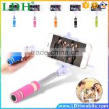 Universal Mini Selfie Stick Cellphone Camera Tripod Remote Self-photograph Extendable Flexible Portable Handheld Selfie Monopod