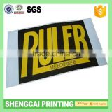 Outdoor UV Proof Glossy Car Decoration car number anti radar sticker