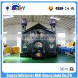 Factory Whosale Cheap Halloween Inflatable Haunted House / China Kids Jumper Toys