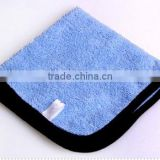high quality microfiber towel car care cleaning cloth car detailing towel car wash towel blue color
