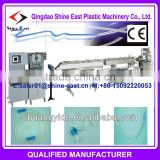 Qingdao PP PU PVC Intravenous Infusion medical soft pipe production line plastic machinery extruder made in china