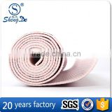 Competitive Price Colorful High End Top Quality Factory Made Pvc Yoga Mat 5Mm Bright Colours