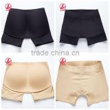 Newest black&nude colors old ladies boxer panties padded panties