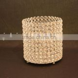 Hot sale wedding table dinner candle holder / hot sale tealight glass tube candle holder / ornament tealight candle holder