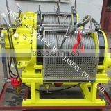3 ton air winch used for offshore platform oilfield mining engineering with automatic brake